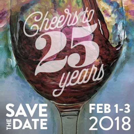 Triangle Wine Experience, one of the largest wine events on the East Coast, celebrates 25 years!