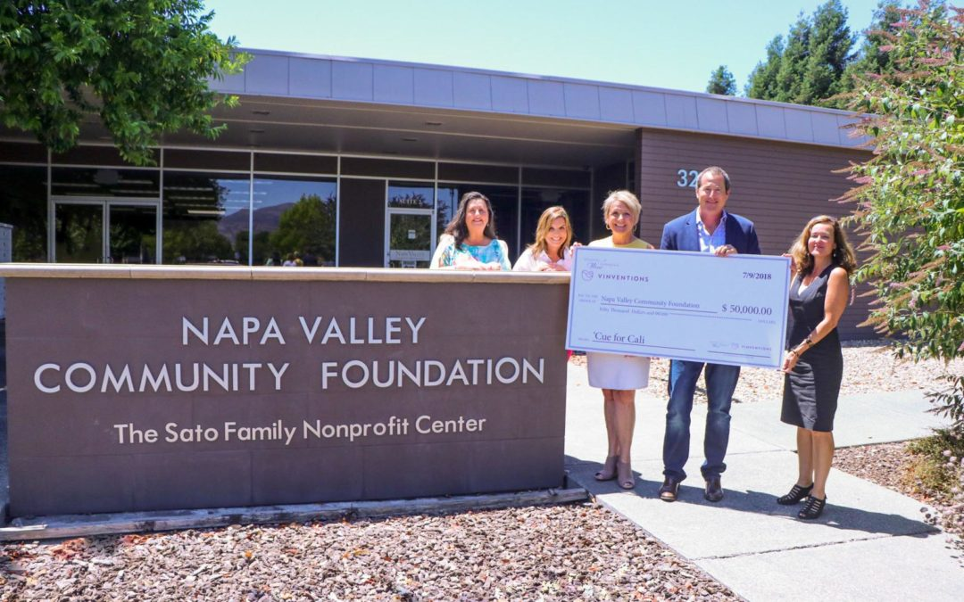NC Friends of CA Winemakers donate $100,000 to Ongoing Wildfire Relief Efforts in Wine Country