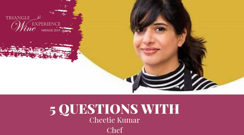 Five Questions with Chef Cheetie Kumar
